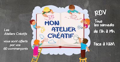 Animation Mon atelier créatif Galerie Saint-Médard