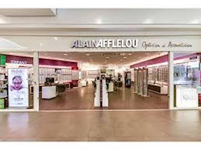 Devanture magasin Alain Afflelou galerie Saint-Médard
