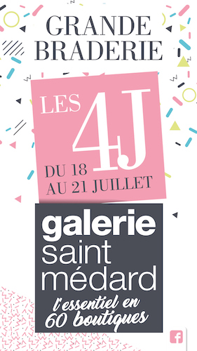 Grande Braderie Galerie Saint-Médard