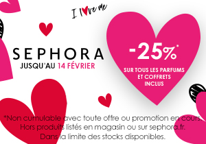 Bon Plan Saint Valentin Sephora