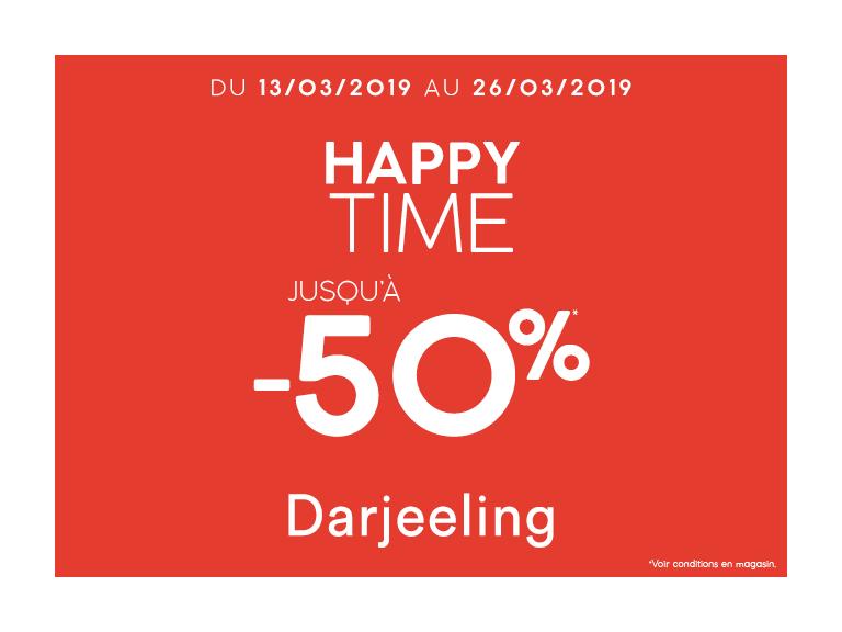 Bons plan Happy Time Darjeeling