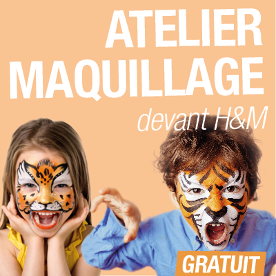 GSM Atelier maquillage enfants