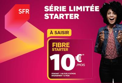 Bon Plans SFR La Fibre Starter