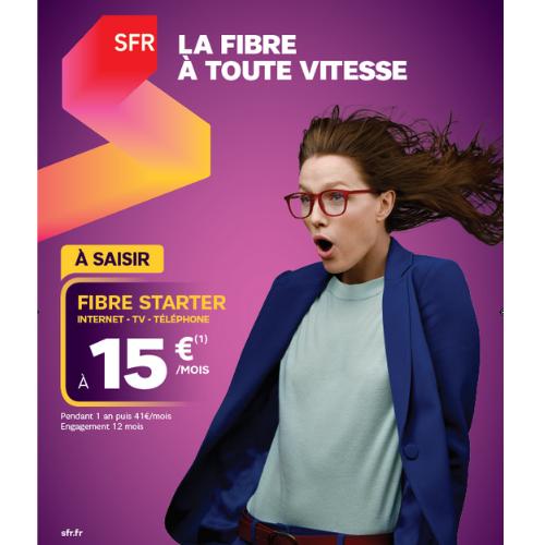 Bon Plan Fibre SFR Galerie Saint-Médard