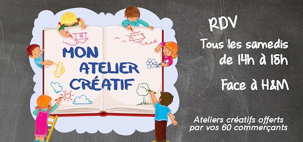 Atelier créatif galerie Saint-Médard