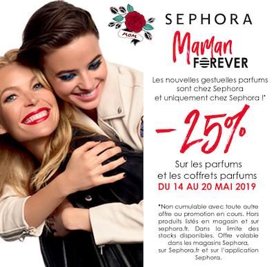 Sephora fête des mères - galerie Saint-Médard