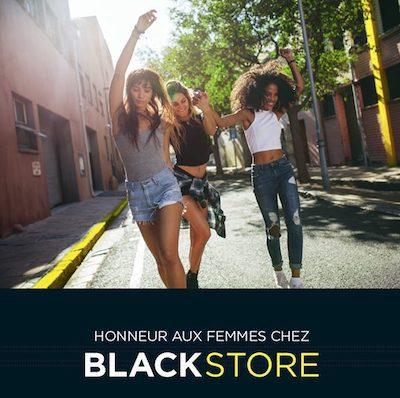 Blackstore fêtes de mères galerie Saint-Médard